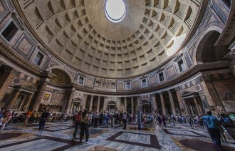Interiér Pantheonu