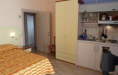 Kuchyně v apartmánu
