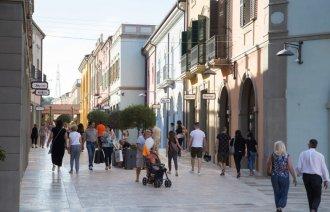 Outletová vesnice Città Sant'Angelo