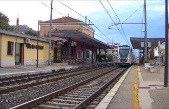 Železniční stanice v Silvi